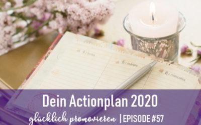 Mach aus deinen Neujahrsvorsätzen einen Actionplan