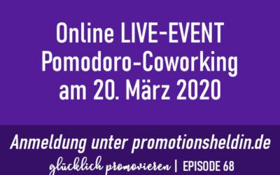 Aktion Pomodoro Coworking