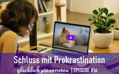 5 Antiprokrastinations-Tipps für deine Promotion