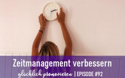 4 Schritt für ein gutes Zeitmanagement
